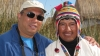 With the President of Uros Islands