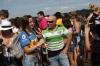TV Crew - Iguazu Falls, Argentina