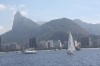 Guanabara Bay with Corcovado in the Background