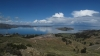 Lake Titicaca, Bolivia - as seen from the bus heading towards La Paz.