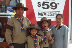 The Scouts with Lola Lou - Blacktown 1998