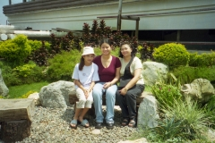 Jessica, Yeng and Jeanne - Baguio 2000