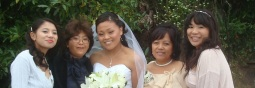Jessica, Jeanne, Clarina, Agnes and Celine