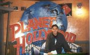 At Planet Hollywood before they closed shop