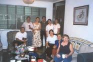 L-R: Uncle Do, Kuya Ed, Terry, Francis, Ate Ditz, Ate Vick, jeanne, Auntie fe and Auntie Noemi