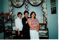 From Left: Cynthia, Menchie and Jeanne